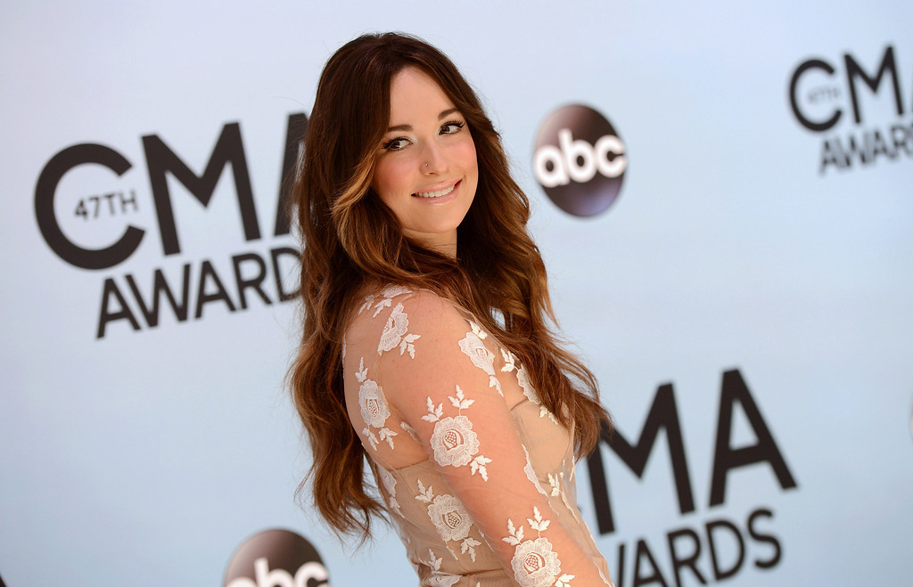 . Kacey Musgraves arrives at the 47th annual CMA Awards at Bridgestone Arena on Wednesday, Nov. 6, 2013, in Nashville, Tenn. (Photo by Evan Agostini/Invision/AP)