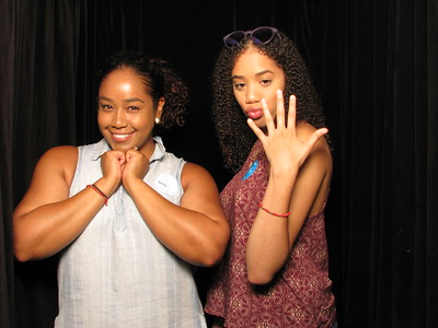 Curtained Photo Booth- Pics