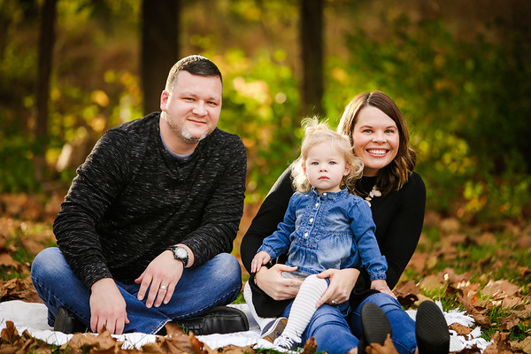 Russell Family Fall Portraits