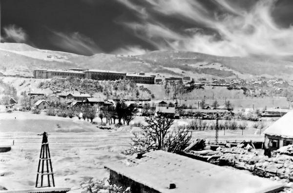 Naselje Otoka, snijeg 1964. godine