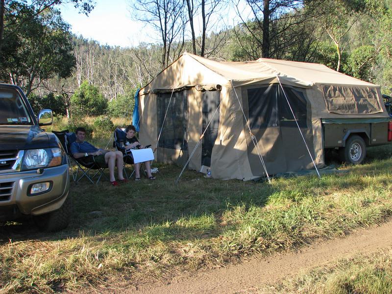 Geehi - campsite