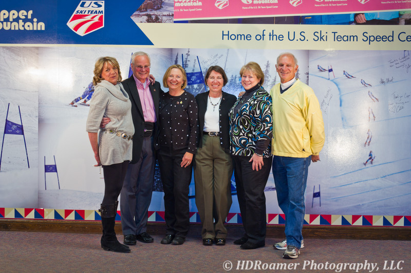 Eve Steffen, Don Reser, Marcia Spenst, Patti Welsh, Linda Curry, and  Mike Curry