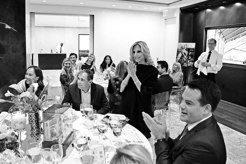Randi Schatz (& Atmosphere) AVENUE MAGAZINE Presents the SALON DINNER & CONVERSATION with Architect and Designer DAVID ROCKWELL  10 Hudson Yards NYC, USA - 2017.10.17 Credit: Lukas Maverick Greyson