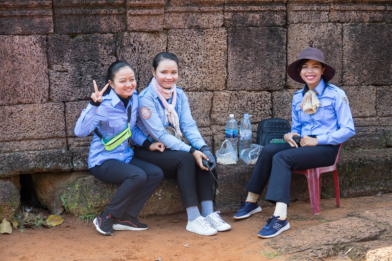 Peace at Banteay Srei