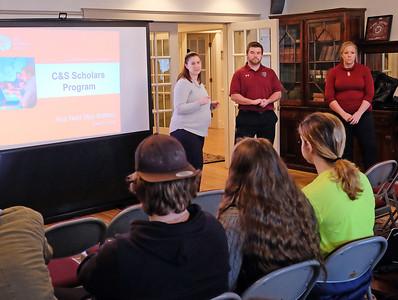 C & S Scholars Presentation 1-30-18
