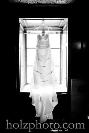 Irina and Evan B/W Wedding Photos (Louisville, Ky)