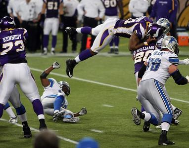 MN Vikings vs Detroit Lions (Nov 15, 2009)