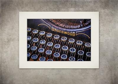 Underwood - Vintage Typewriter 2 - $5