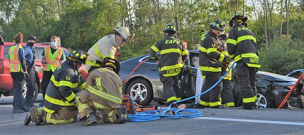 MVC With Entrapment - Lakeville Road Avon, NY - 5/27/21