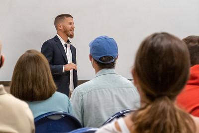 Veteran Success Team hosting Kyle Carpenter on campus