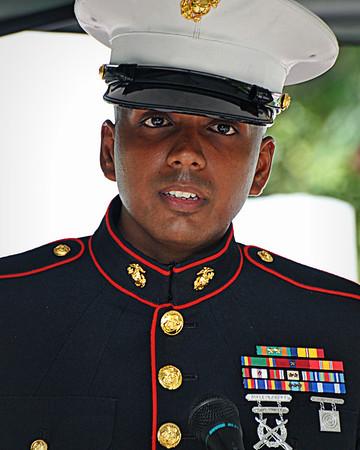 Marine Corps Memorial August 2012