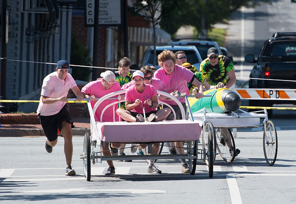 8th Annual Bed Race