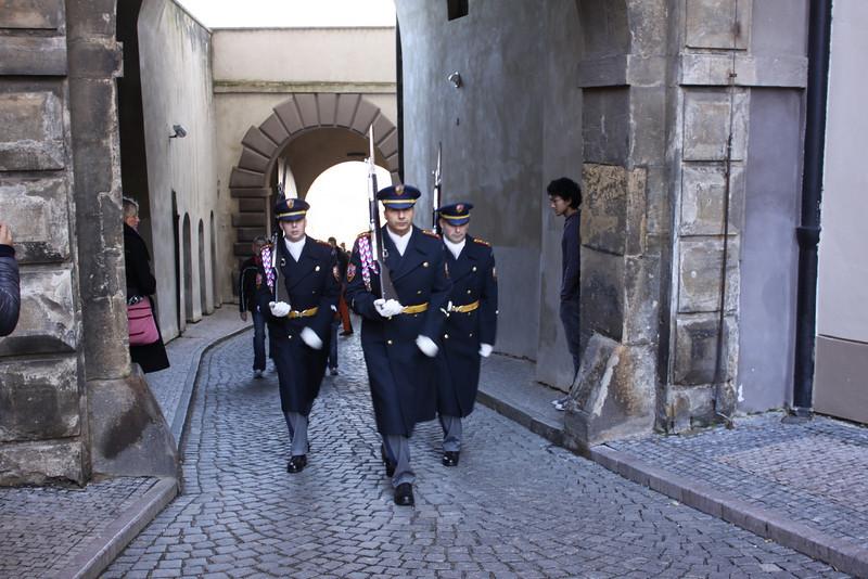 inside Prague Castle