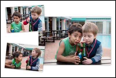 Zack and Daniel - friends