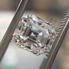 2.39ct Antique Asscher/Square Emerald Cut Diamond, GIA D/IF 13