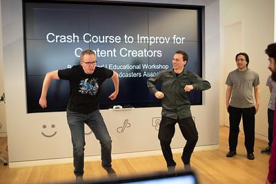 BroadcasterU - Crash Course to Improv for Content Creators
