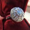 1.98ctw Art Deco Diamond Dome Ring 8