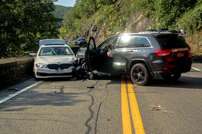 7-28-2021 MVA With Injuries, Bear Mt Bridge Road
