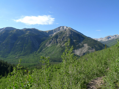Mt. Hope and Quail Mountain, June 2010