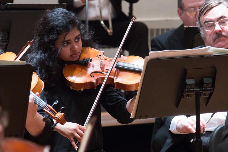 Sharada Narayanan --Hopkins Symphony Orchestra, April 2017