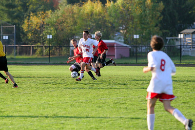 Boys JV Soccer - 2007-2008 - 10/8/2007 Reed City