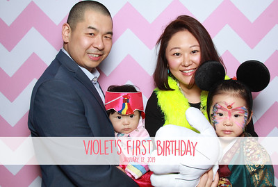 Violet's 1st Birthday - 1/12/19