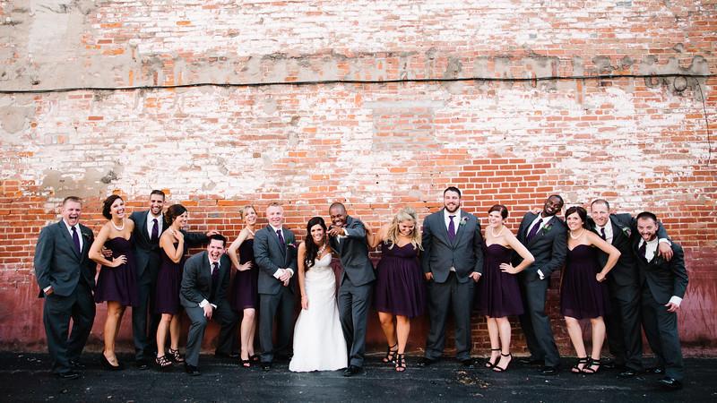 Downtown Galena Wedding Portraits