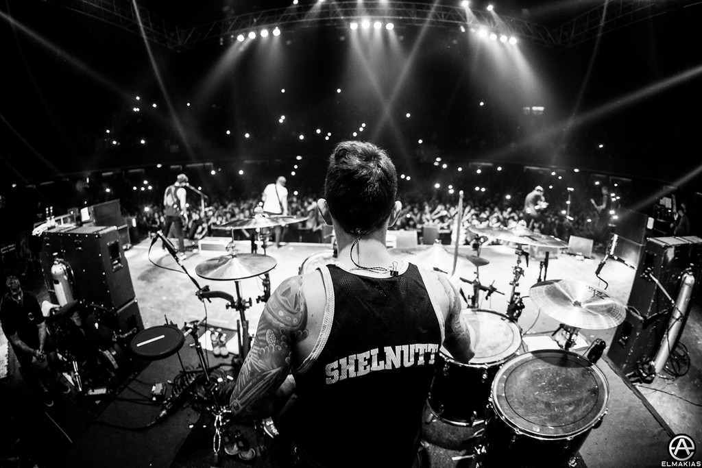 Alex Shelnutt of A Day To Remember by Adam Elmakias