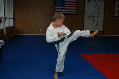 08-16-05 Connor Purple Belt Test