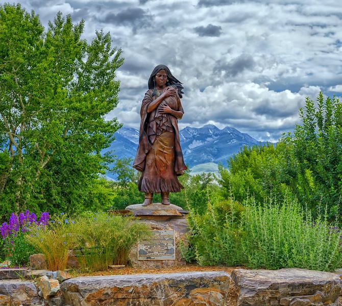 Statue of Sacajawea