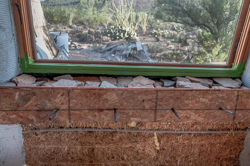 North Window Ready For Concrete
