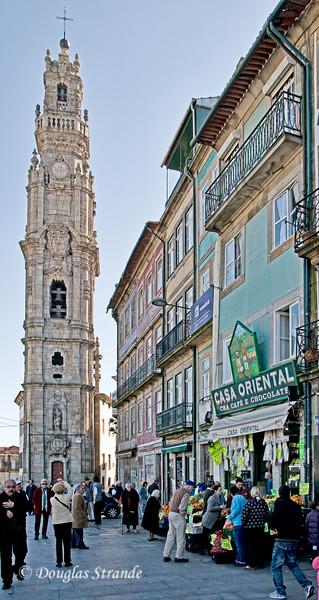Sat 3/19 in Porto: Clerigos church tower