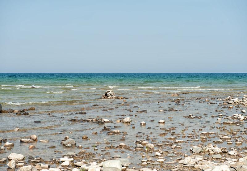 042 Michigan August 2013 - Grand Traverse Lighthouse Shore.jpg