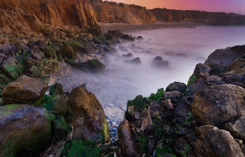 Mossy Rocks, Pescadero State Beach, CA