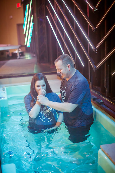 Baptisms Easter 2018