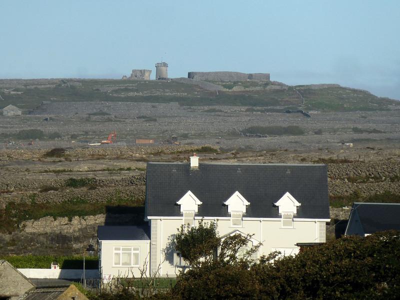 Aran Island Fort overlooking Killeany Bay.jpg