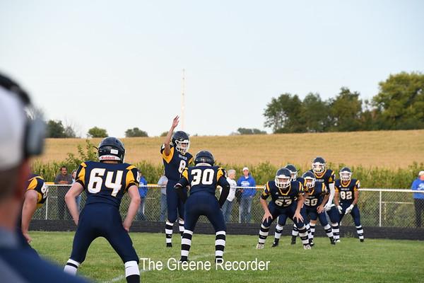 Football vs Dike-New Hartford