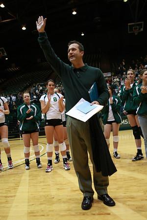 CSU vs. AFA and Wyo Volleyball 09