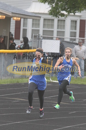 UP Girls' 400 Meter Dash - 2015 MHSAA TF Finals