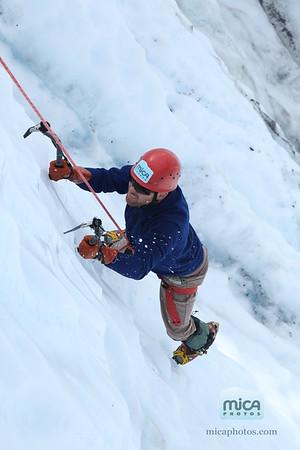 Ice Climb with Brett W