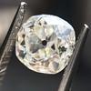 0.94ct Antique Cushion Cut Diamond GIA K Sl1 8