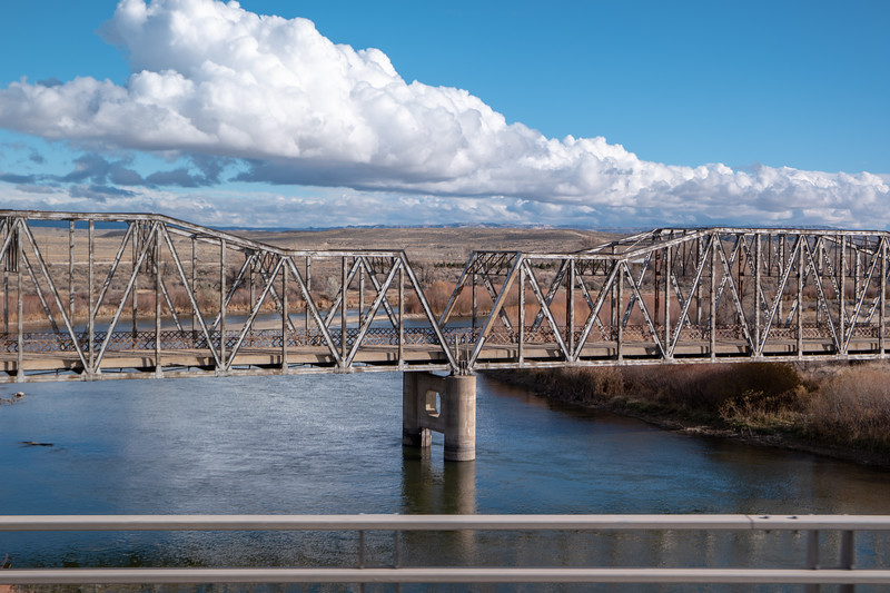 Eastern Wyoming Old Bridge Crossing