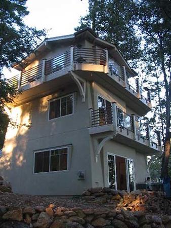 Hammer residence: rear