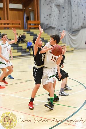 1-26-18 Boys Thirds, JV and Varsity Basketball