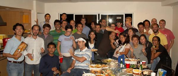 Axe Cohort First Potluck 9-26-2008