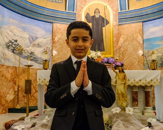 Eli's First Communion