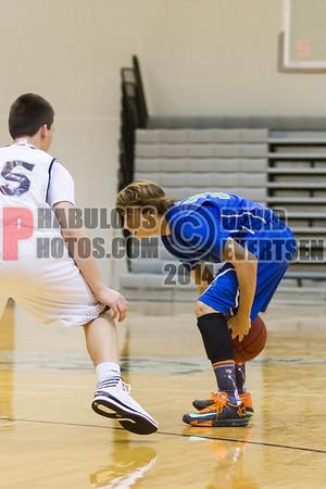 Cornerstone Charter Academy Ducks @ Lake Nona Boys JV Basketball - 2014
