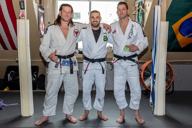 Noah Spear, Zach Green, Dave Sulkin