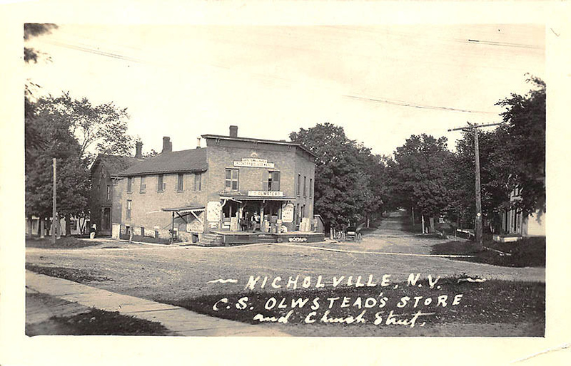 NICHOLVILLE..C.S. OLWSTEADS STORE