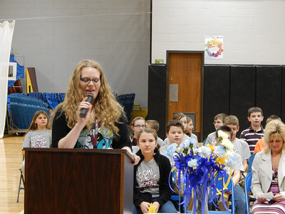 SDES Elementary Honor Society Induction 2014